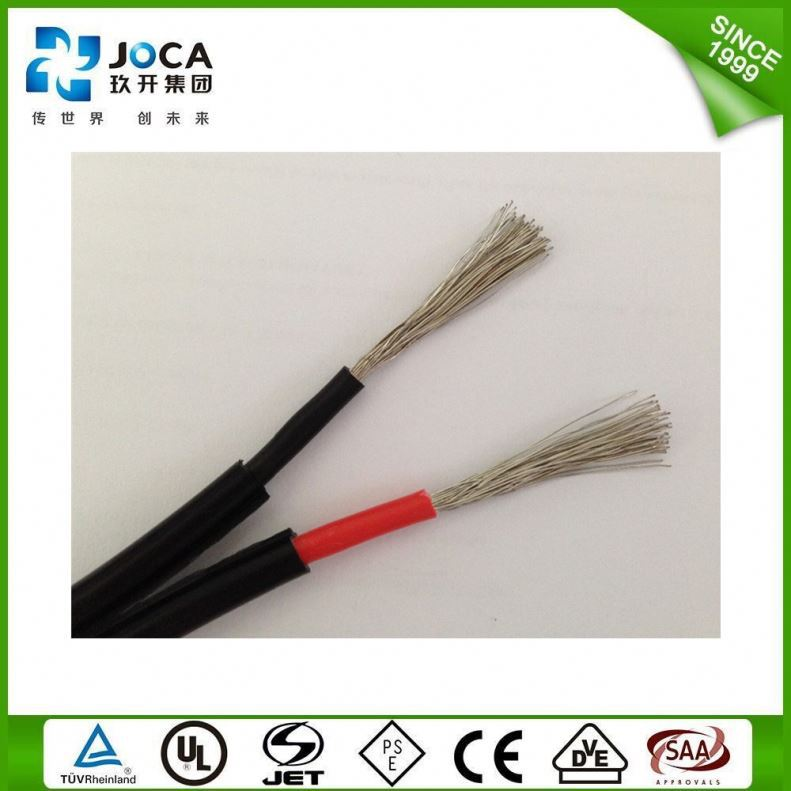 Vietnam Use 2X10mm Solar Dc 6Mm2 Photovoltaic Cable