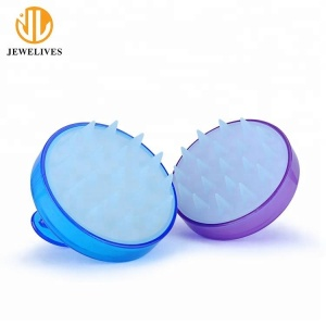 Silicone Shampoo Handheld Scalp Massage Brush Head Massager