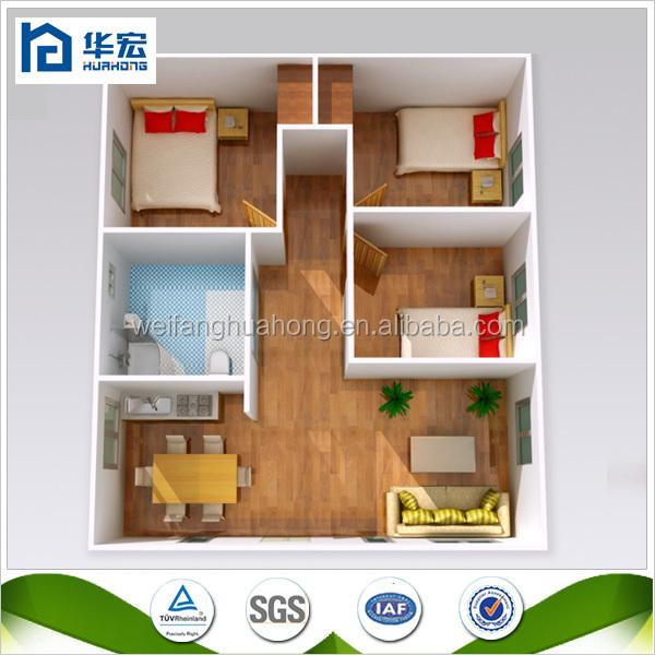 40m2  100m2 Mobile Homes/casa Prefabricada/cheap Prefab House