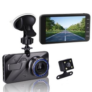 "4"" IPS Dual Lens Car Dash Cam FHD 1080P Dashboard Camera 170 degree Wide Angle Car Vehicle Driving DVR Recorder"