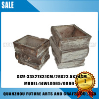 Book Shape Resin Flower Pots For Sale