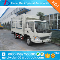 JAC 4*2 6 wheels Fence Cargo Truck For Sale