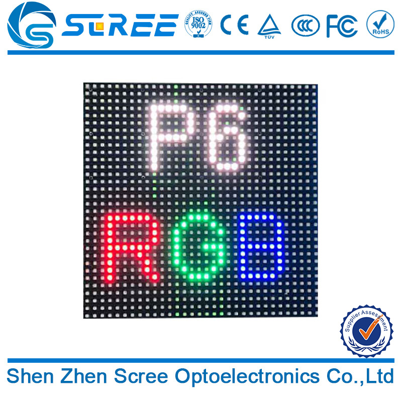 Good price MBI 5124 IC top quality outdoor p6 rgb led display module led screen panel made in china