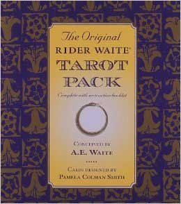 Novelty Toys Tarot Cards Full Wait Deck Rider-Waite 78 Cards 160 Page Book