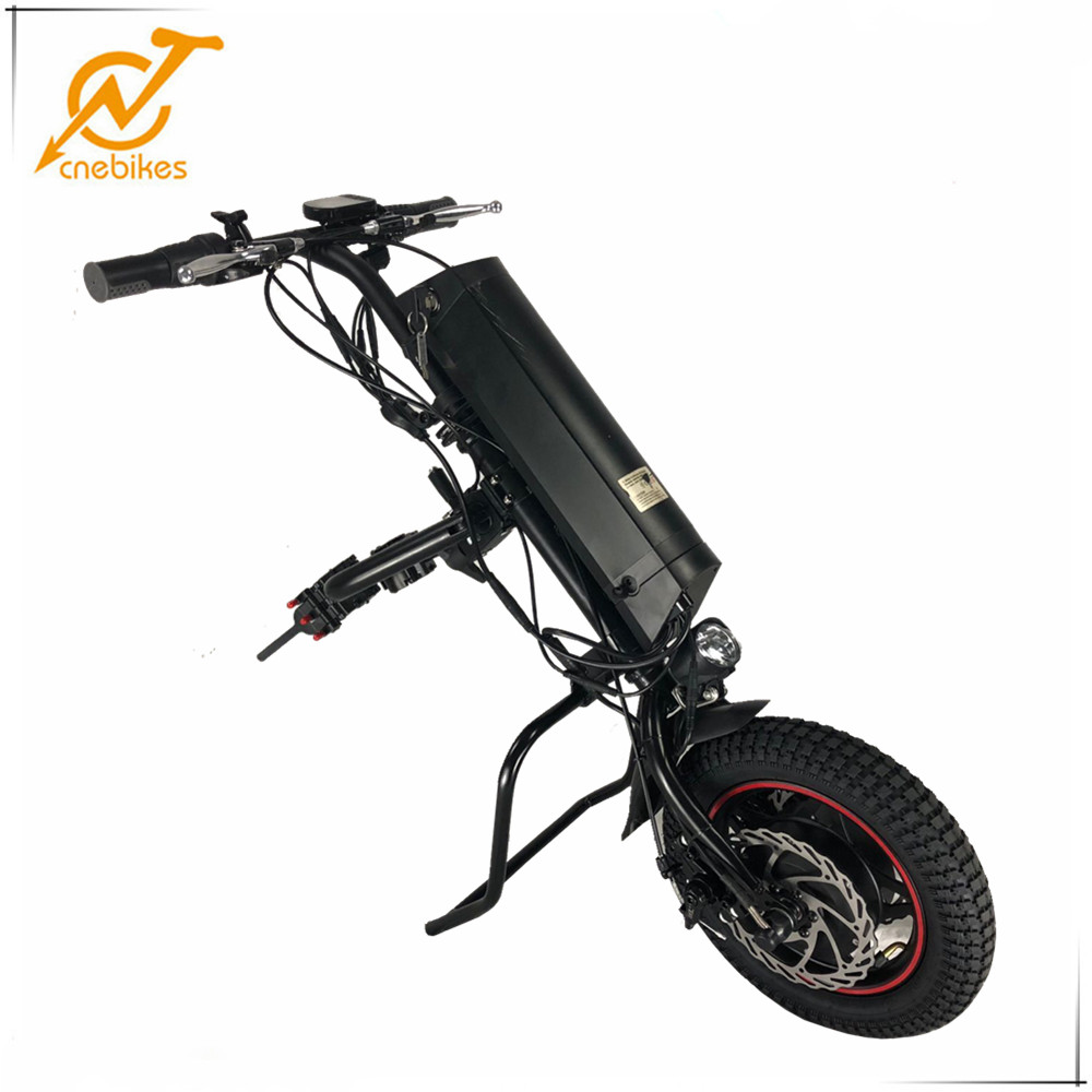 CNEBIKES handbike wheelchair attachment 36v 350w electric handcycle with lithium battery
