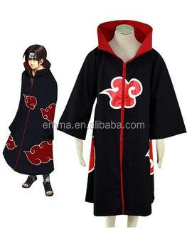Wholesale Naruto Costume Sasuke Chiha Cosplay Itachi Clothing Hot Anime Akatsuki Cloak Cosplay Costume Bmg 4013 Buy Naruto Costume Sasuke Uchiha