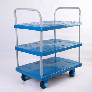 SS 3-layer food service trolley triple-deck food service trolley prices food transport trolley