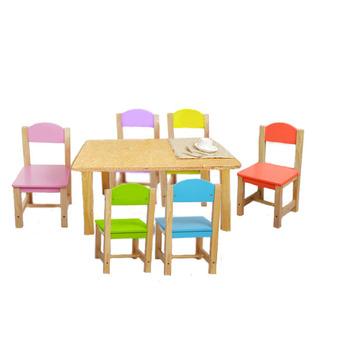 Holz Mini Tisch Und Stuhl, Massivholz Kinder Tisch Und Stühle, Party Tische  Und Stühle