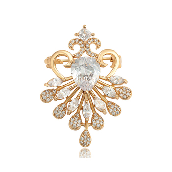 brooches 695 Xuping fashion gold women jewelry brooch for women