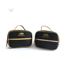 Newest fashion custom sublimation portable satin cosmetic bag