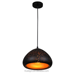 2017 hot selling retrostyle metal shade with holes cover
