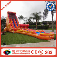 Factory price large plastic water slide for sale