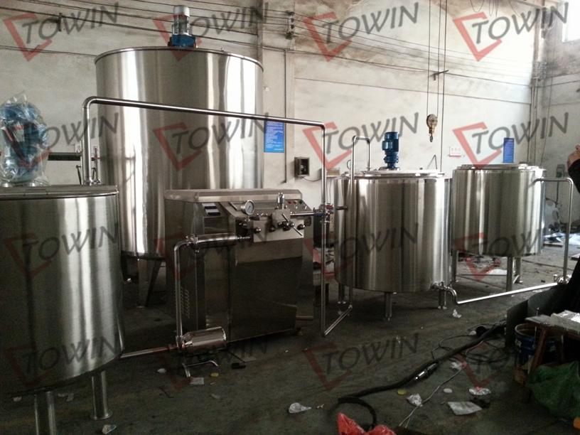 Mini Dairy Processing Equipment Small Milk Processing