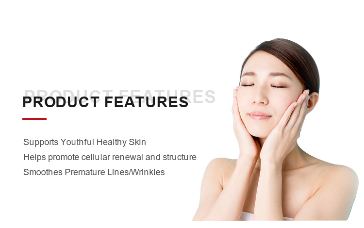 120mg Oem Odm for Skin Hydration and Repair of Hyaluronic Acid skin care capsules