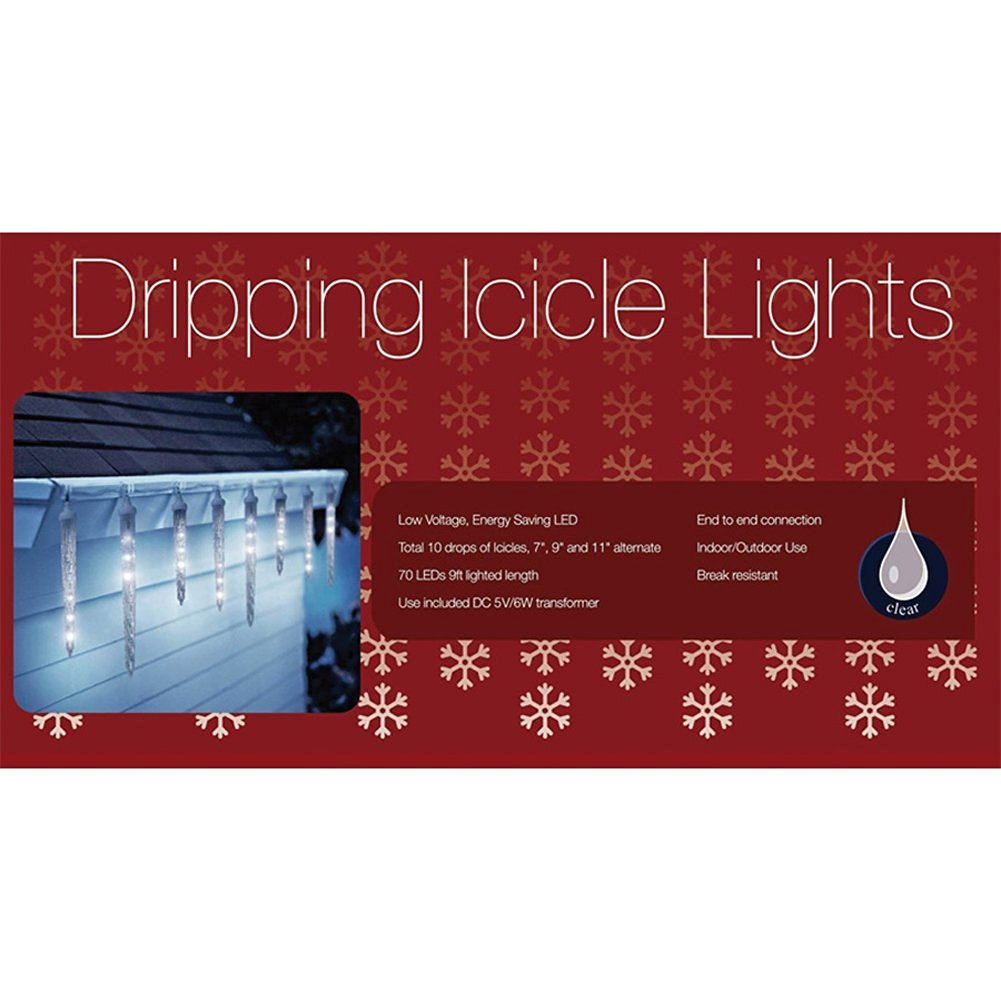 Cheap Red Icicle Lights White Wire, find Red Icicle Lights White ...