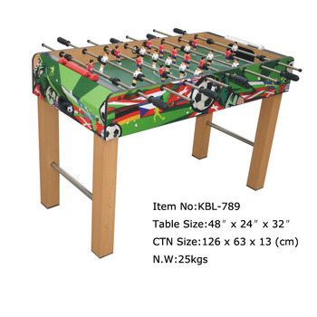 Kbl Standard Foosball Table Buy High Quality Soccer Table - Regulation foosball table