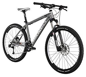 Diamondback Bicycles 2015 Axis Comp Hard Tail Complete Mountain Bike, 16-Inch/Small, Dark Silver/Black