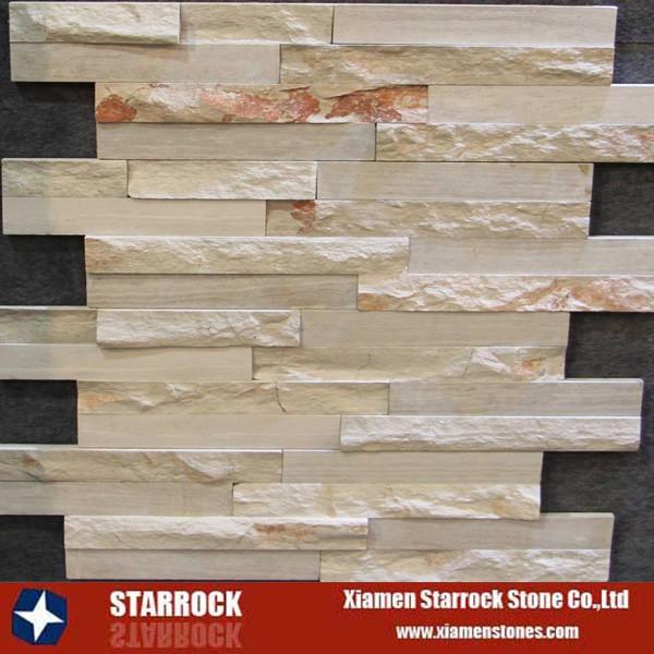 Chapa de piedra de pizarra natural barato para el interior - Revestimiento de piedra natural precios ...