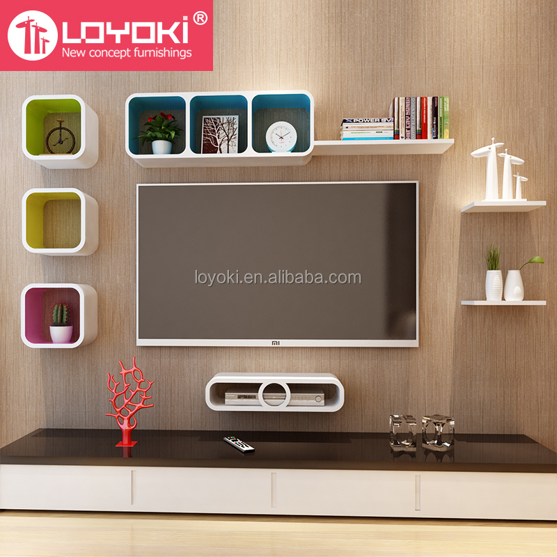 Decoratie woonkamer plank - Nieuwe ontwerpmuur ...