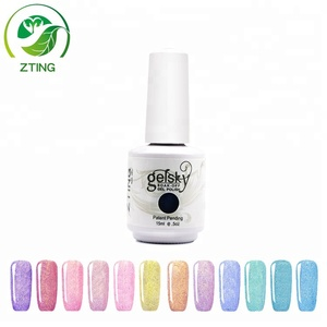Create your brand cheap wholesale nail polish 15 ml gel polish for nails Glazed Gold Series color gel