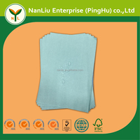 Green color Wood pulp/PET Hydrophobic Medical Barrier Spunlace Nonwoven Fabric for Surgical Gown and Drape