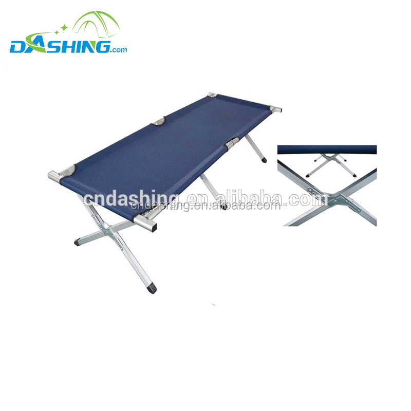 Folding Camp Cot Camping Bunk Bed Cots Double Military Army