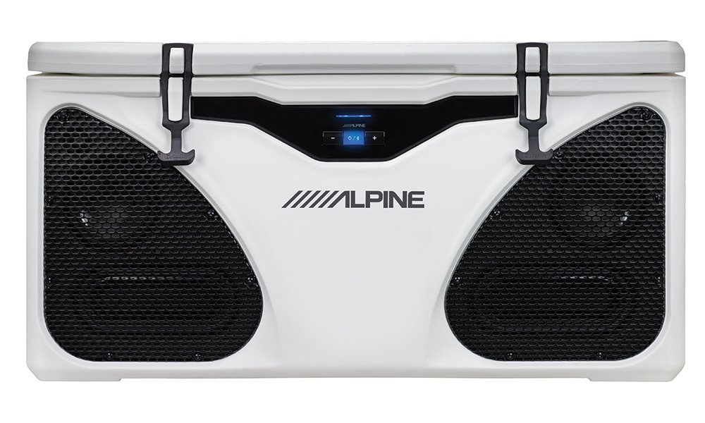 Alpine Electronics Alpine Ice (In-Cooler Entertainment) System, White, One Size
