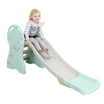single safety Outdoor Garden home  Amusement Park Playful Kids baby Plastic Slide