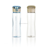 New design custom clear pc sport plastic bottle design price for mineral water