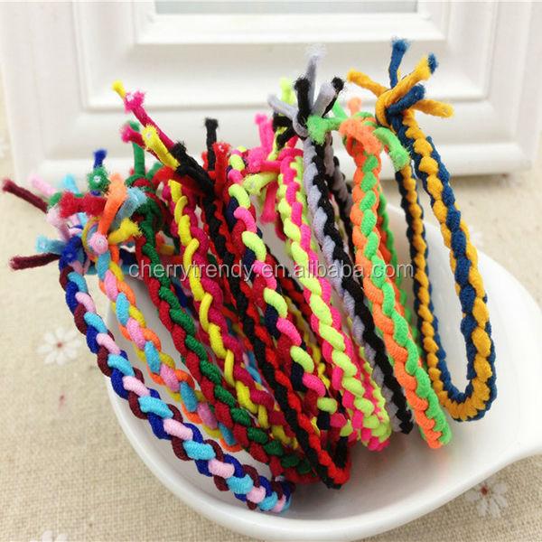 Tie Friendship Bracelets It S A Bracelet It S A Hair Tie It S Both Buy Hair Tie Bracelet Diy Friendship Bracelet Braided Bracelet Product On