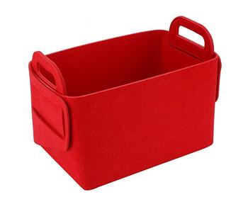 New Style Modern simple household felt fabric storage basket
