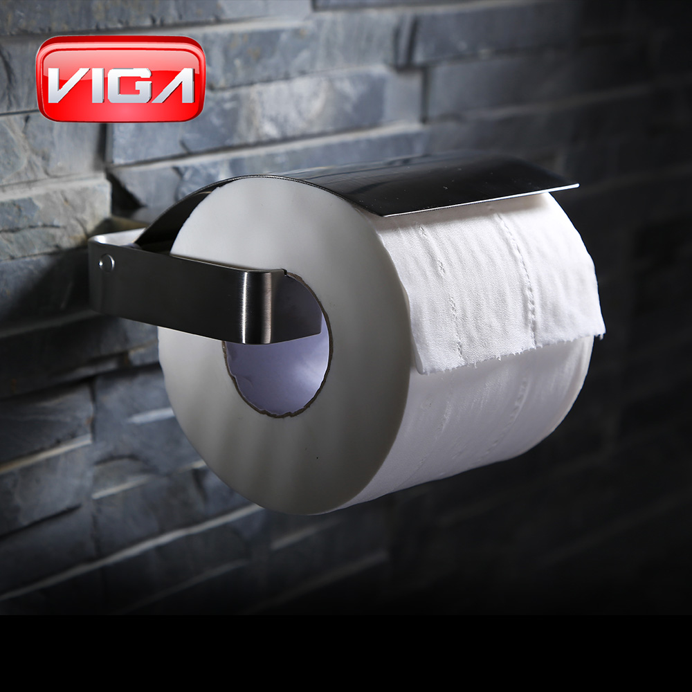 Wall mounted bathroom accessories Toilet paper holder with cover