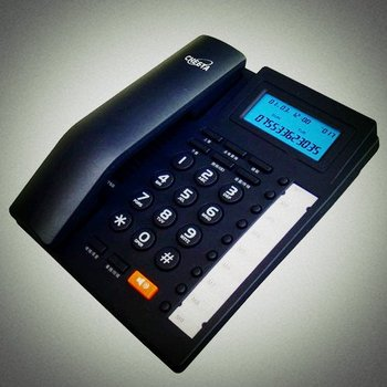 landline phone models with id caller high quality memory telephone