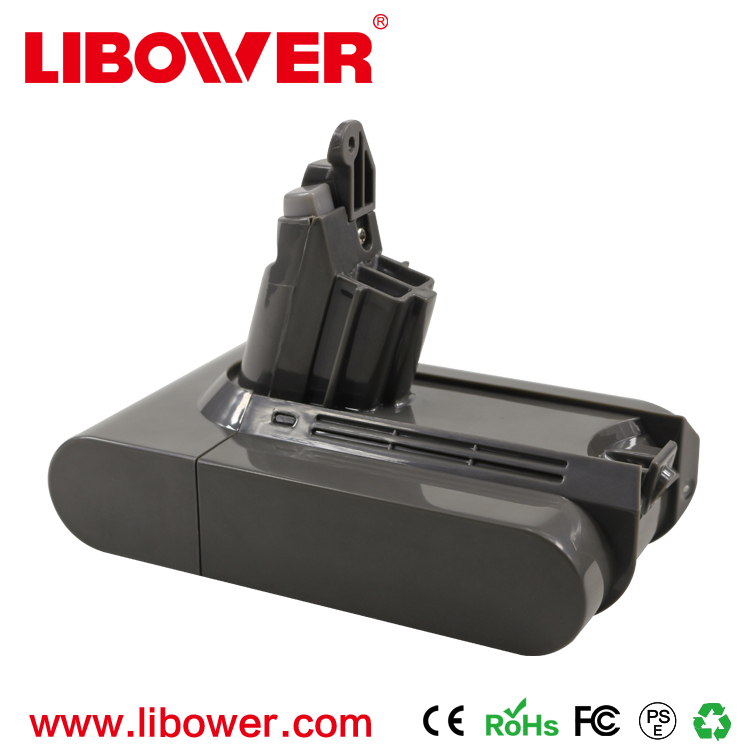 Libowr 21.6v 2.2Ah Dyson V6 Vacuum Battery Replacement for Dyson DC58 DC61 DC62 DC72 DC74 Handhold Vacuum Cleaner LI-ION Battery