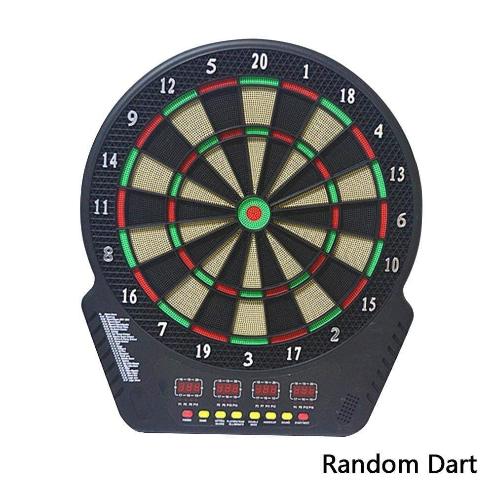 BleuMoo Four LED Display Electronic Dart Board Targets Automatic Scoring Darts Machine Suit