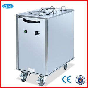 2014 New western kitchen commercial restaurant hot plate warmer cart