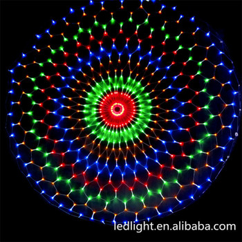 holiday decorations color changing led christmas lights led rgb change color net lights with ce and
