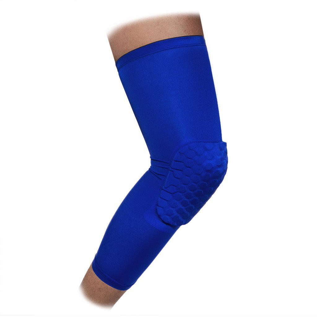 51683789078816 Get Quotations · DODOING Basketball Knee Pads Hex Padded Compression Leg  Sleeve Kneepad Honeycomb Knee Pads Leg Knee Sleeve