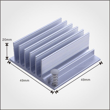 Customized Extrusion CNC Aluminum Heatsink Profile/Aluminum Alloy 6063 Extrusion Heatsink for Led Light