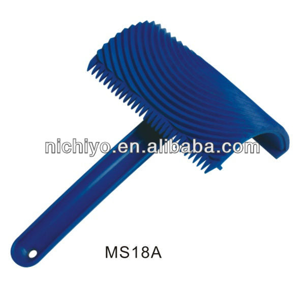 Texture paint tools - rubber wood graining tool MS18A