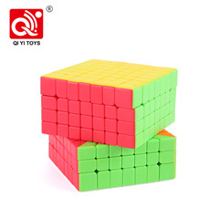 XMD shadow plastic 6x6 cube puzzle toy magnetic game with multi play way