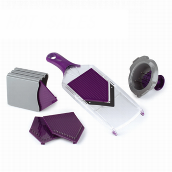 V blade vegetable slicer
