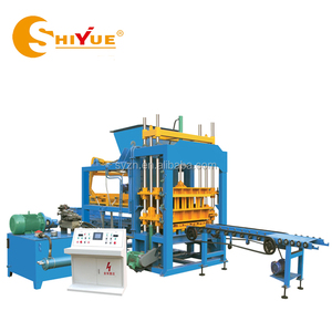 QT5-15 hydraulic color paver block maker price/paver types of bricks machine used in construction