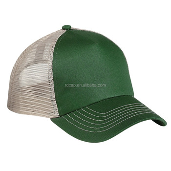 a3c798ed251f5 One size fits all Chinese factory promotion cotton nylon mesh trucker hat  and cap men plain