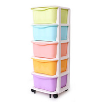 Baby Plastic Storage Cabinet With Drawer