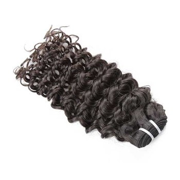 XBL One Donor Top Grade 8a Human Hair, 3 Bundles Jerry Curl Indian Hair