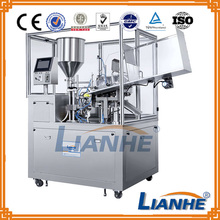 Cosmetics Paste Facial Cream Toothpaste Soft Tubes Filling Sealing Machine