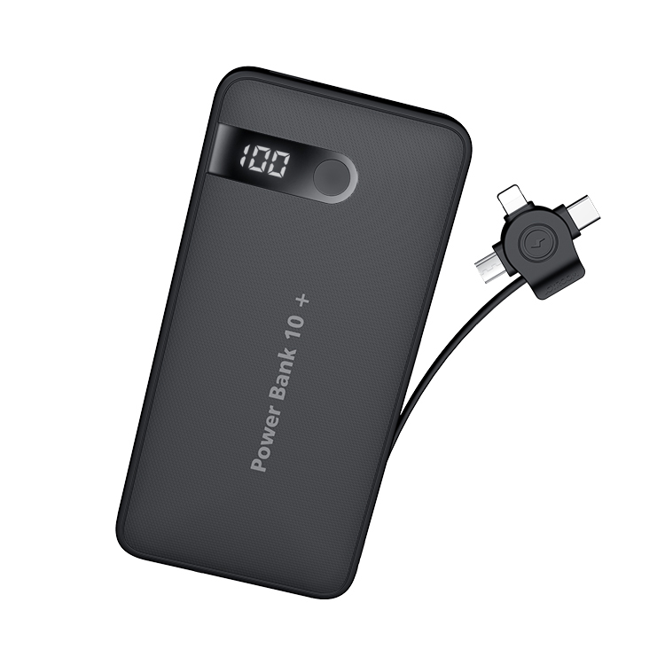 Joyroom 2019 new products power bank 10000mah <strong>portable</strong> led 3 in 1