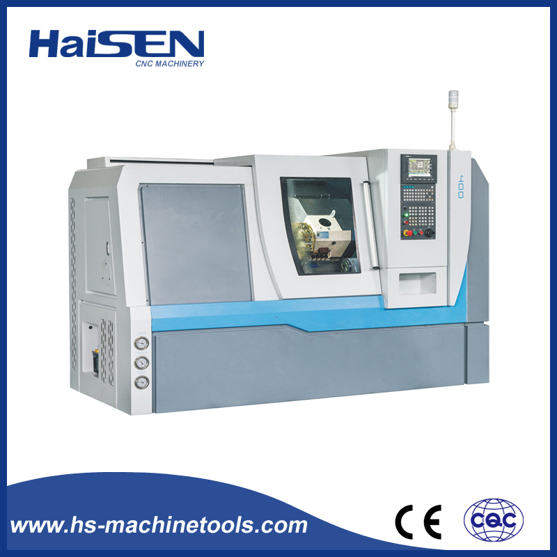 X400-1 Chinese Auto Linear Guideway Precision CE Certificate Inclined Bed CNC Turret Type Lathe Machine
