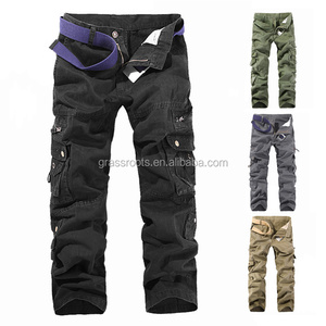 Cheap Price Wholesale 10 Pockets Cargo Pants for Men